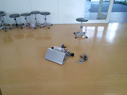 学生用に準備している学習用ロボット