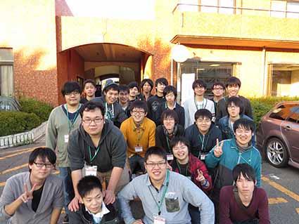 機械創造工学科の参加者